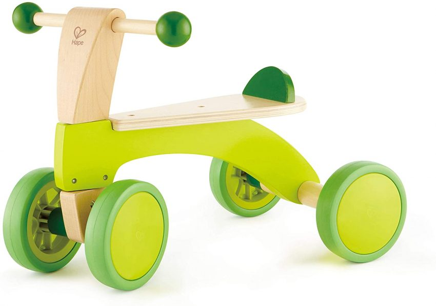 Hape Scoot Around Ride On Wood Bike Review.
