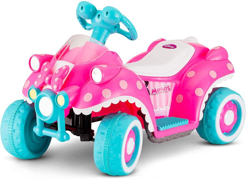 Kid Trax Ride-On Quad, Battery-Powered Toy Review.