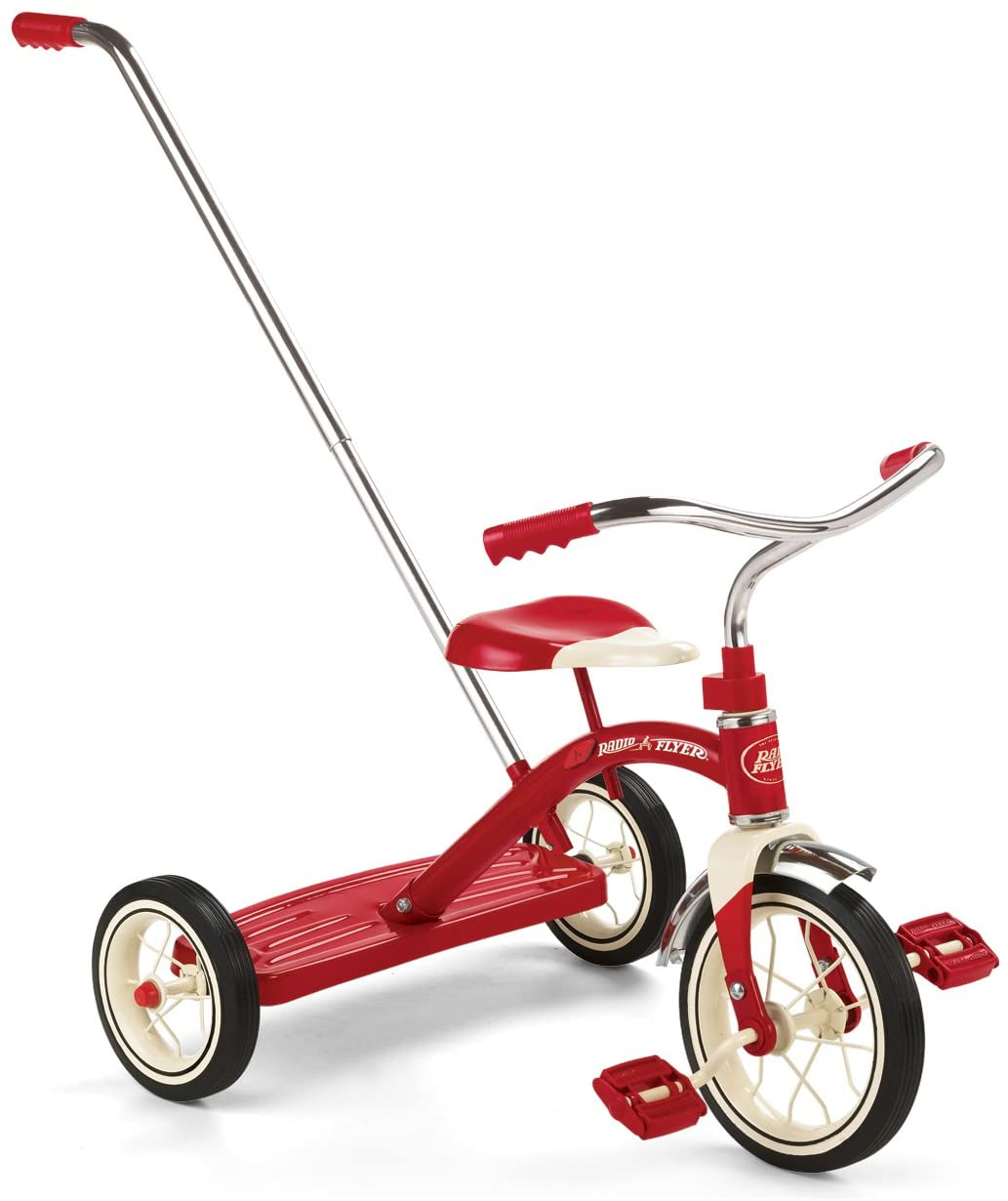Radio Flyer Classic Tricycle with Push Handle Review.