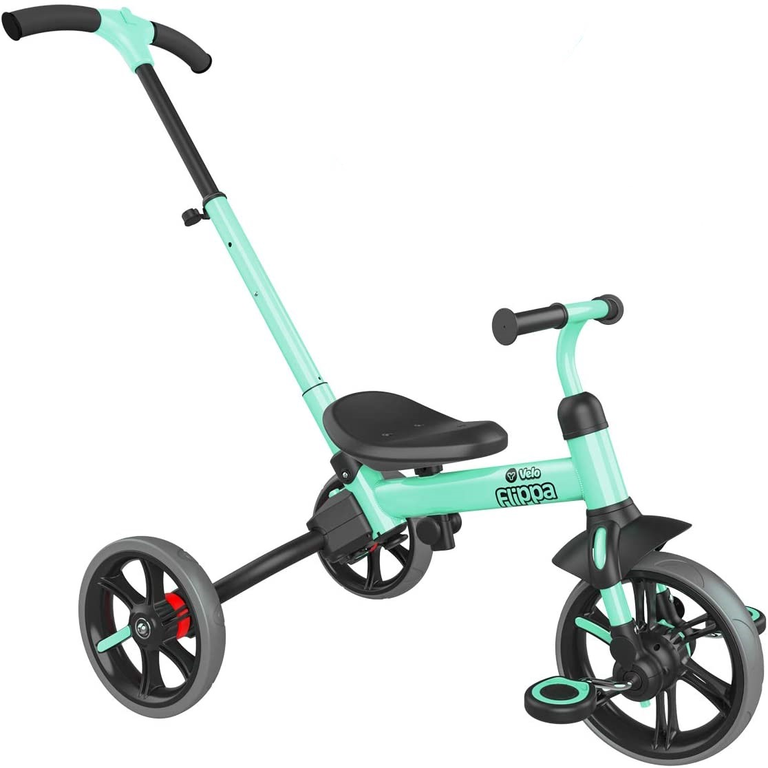 Yvolution Y Velo Flippa 4-in-1 Toddler Trike to Balance Bike Review.