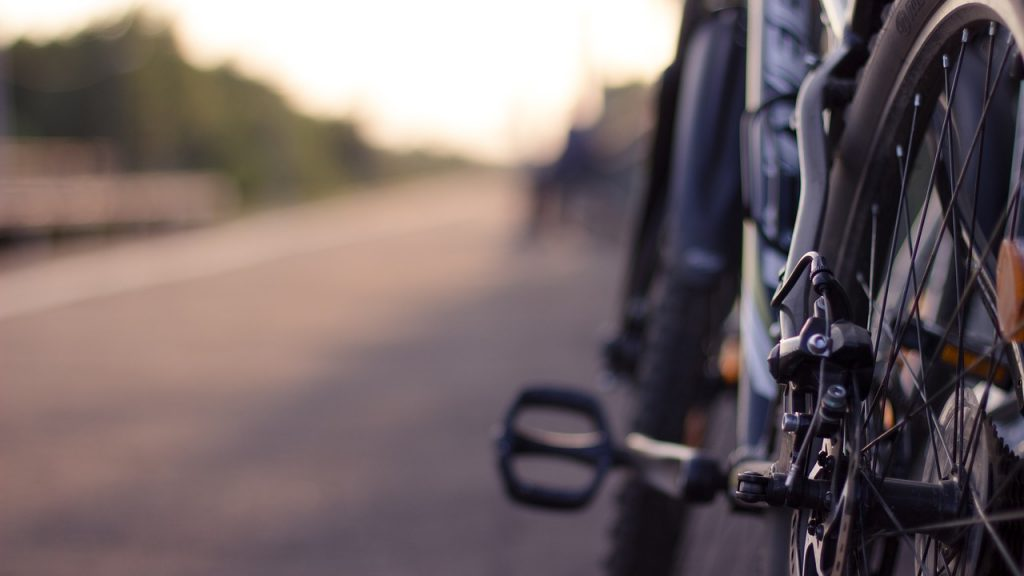 Bike brakes.