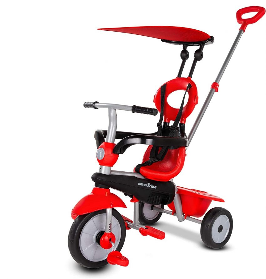 smarTrike Zoom Toddler Tricycle for 1,2,3-Year-Olds - 4 in 1 Review.